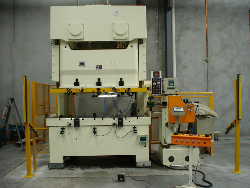 Metal Stamping Press 200 Ton line