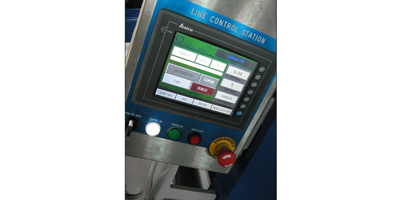 Cut to Length line Operator Control Station