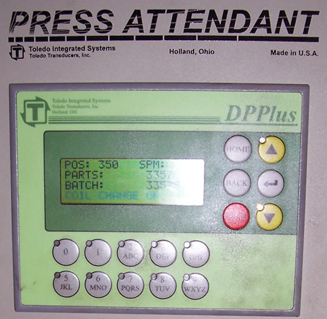 Press Attendant Load Monitor