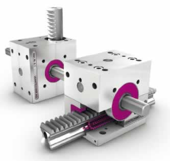 Linear Rack and Gear Lifting Drives